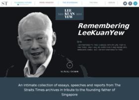 leekuanyew.straitstimes.com
