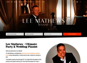 leemathewspianist.co.uk