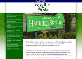 leesvilleprideathleticclub.myonlinecamp.com