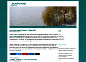 leforumsecret.com