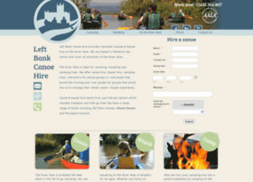leftbankcanoehire.co.uk