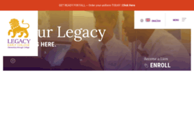 legacycharterschool.com