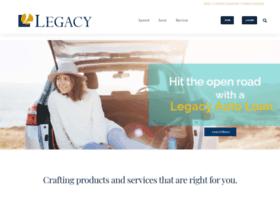legacycreditunion.com