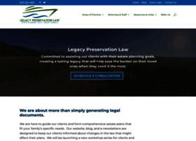legacypreservationlaw.com