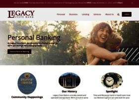 legacystatebank.com