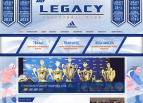 legacyvolleyballcenter.com