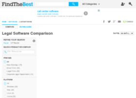 legal-software.findthebest.com