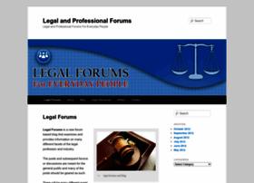 legalforums.wordpress.com
