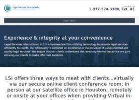 legalservicesinternational.com