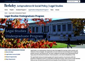 legalstudies.berkeley.edu