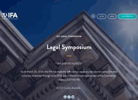 legalsymposium.franchise.org