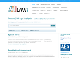 legalthesaurus.org
