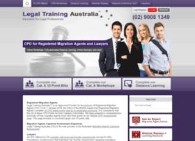 legaltrainingaustralia.com