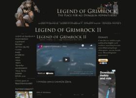 legendofgrimrock.com