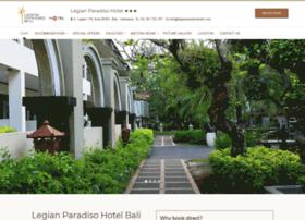 legianparadisohotel.com