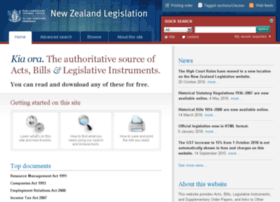 legislation.co.nz