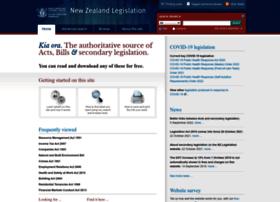 legislation.govt.nz