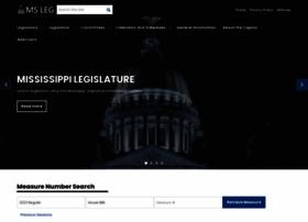 legislature.ms.gov