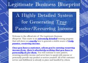 legitimatebusinessblueprint.com