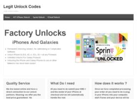 legitunlockingcodes.com