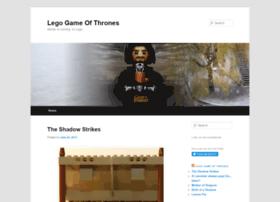 legogameofthrones.com