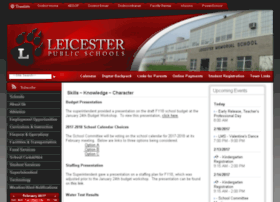 leicester.schoolfusion.us