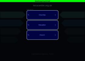 leicscentre.org.uk