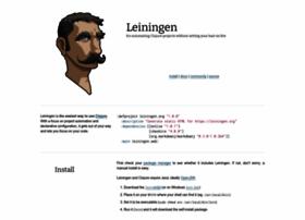 leiningen.org