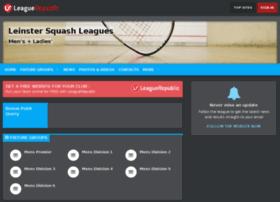 leinstersquashleagues.leaguerepublic.com