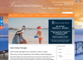 leisureislandholidays.com