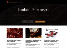 lejambonespagnol.com