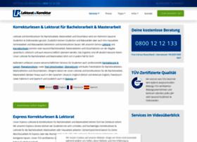 lektorat-korrektur.de