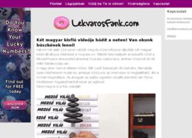 lekvarosfank.com