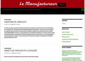 lemanufactureur.fr