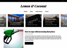 lemonandcoconut.com