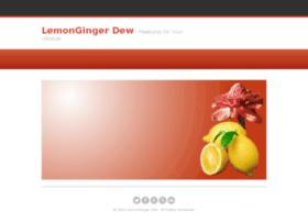 lemongingerdew.com