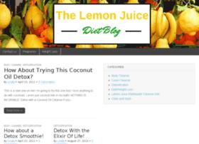 lemonjuicedietblog.com