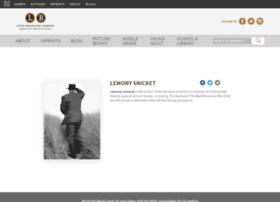 lemonysnicketlibrary.com