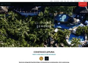lemuriaresort.constancehotels.com