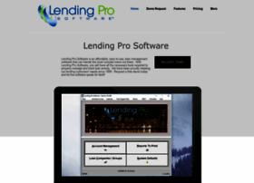 lendingprosoftware.com