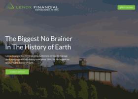 lenoxfinancial.com
