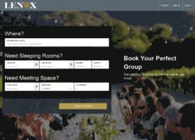 lenoxhotel.groupize.com