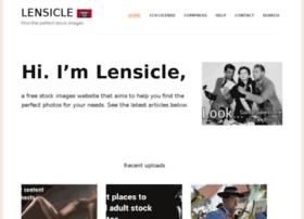 lensicle.com