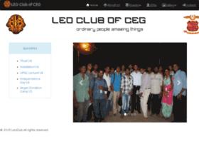leoclubofceg.org