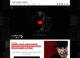 leonardcohen.com