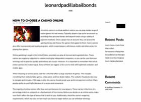 leonardpadillabailbonds.com