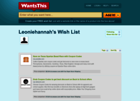 leoniehannah.wantsthis.com