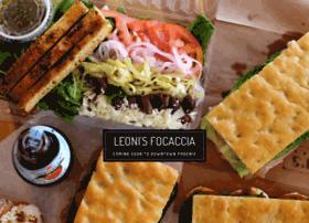 leonisfocaccia.com
