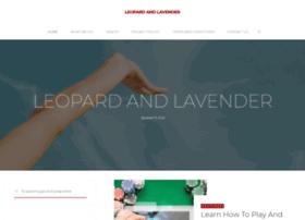 leopardandlavender.com