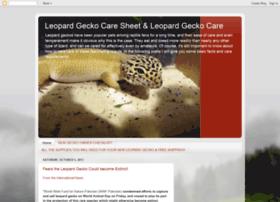 leopardgeckocaresheet.blogspot.in